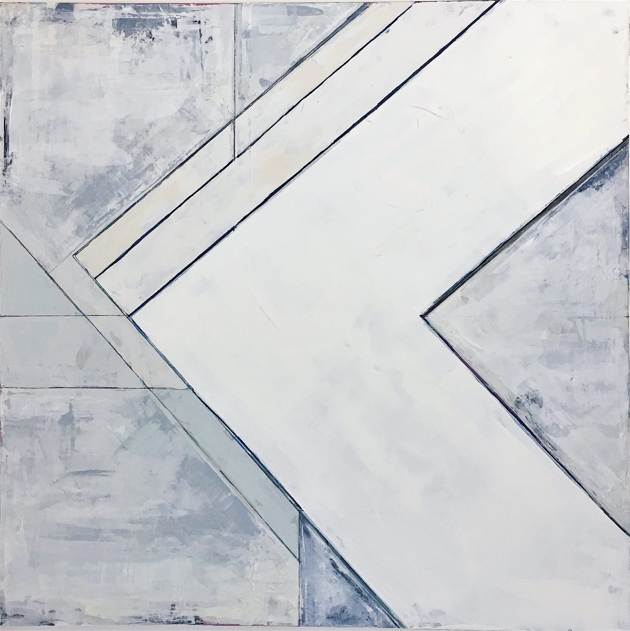 """Evenly 36""""x36""""  $2100"""