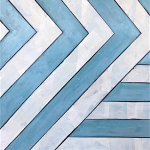 "Poolside No. 2 30""x40""  $1800  Available at Serena & Lily Atlanta"