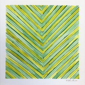Color Line Lime Square  12x12  $175