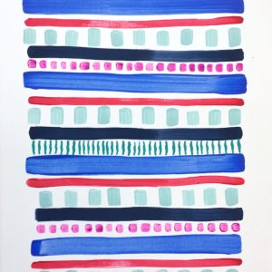 Color Study Cobalt 2  16x12  $125