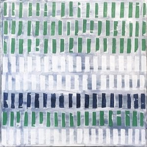 """Home Sweet New England  36""""x36""""  $2100  SOLD"""