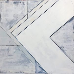 """Evenly 36""""x36"""" Sold"""
