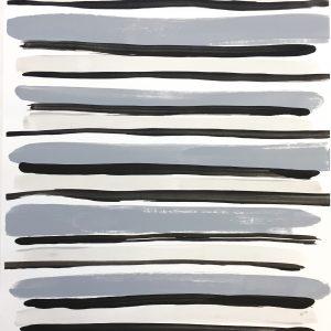 Color Study Black 2  20.75x14.5 $175