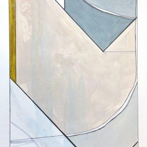 SOLD - Conversations in Color no. 10  18x12  $275